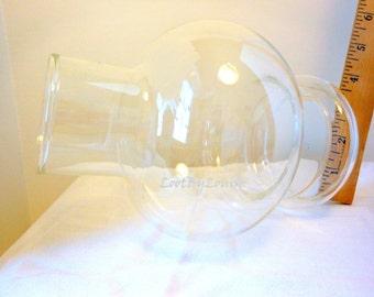 Clear Globe Hurricane Lamp Chimney Shade or Fairy Garden House