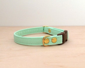 Mint Green Breakaway Cat Collar