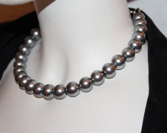 Silver Pearl Jewelry, Silver Pearl Necklace, Silver Beaded Jewelry, Silver Beaded Necklace, Necklace Silver Pearl, Jewelry Silver, Silver