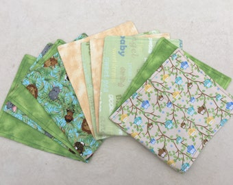Burp Cloth Gift Pack ~ Pack of 5 Burp Cloths ~ Baby Shower Gift ~ 100% Cotton