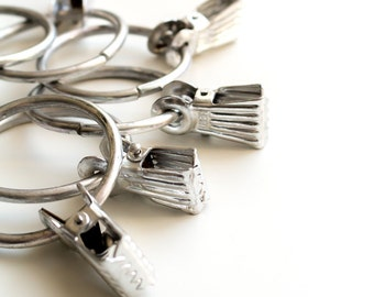 Metal curtain clips   Etsy