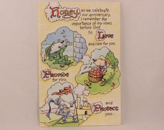 NEW! Humor Religous Anniversary by DaySpring . 1 Single Card with Envelope.