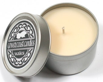 Fresh Linen Handpoured Highly Scented Candle Tin