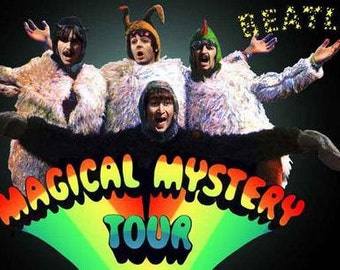 The Beatles Magical Mystery Tour  Rare Poster