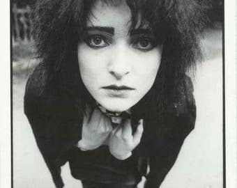 Siouxsie Sioux London 1981  Rare Poster