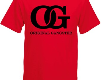 OG ORIGINAL Gangster Graphic Tee  100% Screen Printed  ***Free Shipping***
