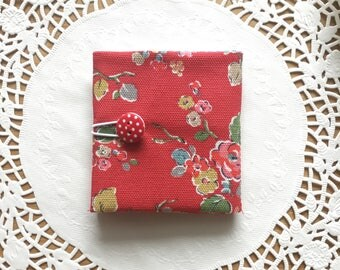 Teabag Wallet made with Cath Kidston Material