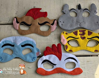 Lion Guard inspired mask.