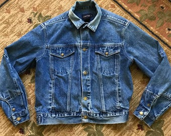 VTG 90s Calvin Klein Naturally Distressed Denim Jacket