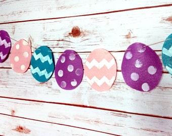 Felt Easter Egg Garland