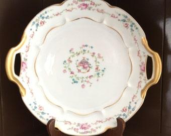 HAVILAND LIMOGES ANTIQUE Cake Plate