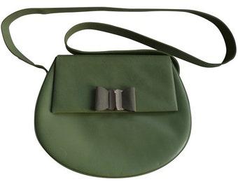 BALLY - small green water bag - vintage