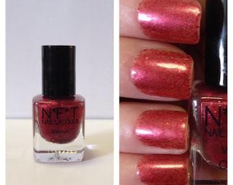 N34 Flirty Glitter Nail Polish / Indie Lacquer