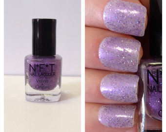N29 Lilac Shimmer Glitter Nail Polish / Indie Lacquer