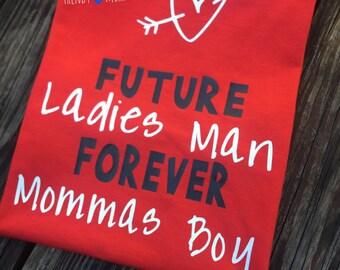 Ladies man valentines shirt