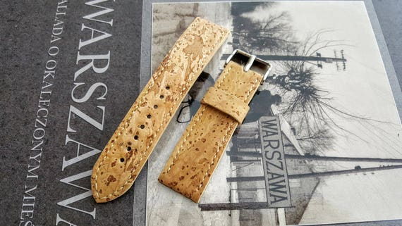 Portuguese Cork Watch Strap - Handmade 02