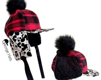 Sale / Toddler & Kids Snapback Pom Hat / BUFFALO MICKEY