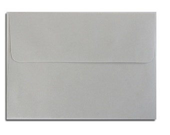 20 Soft Gray Envelopes in A7, A6, A2 & A1 Sizes