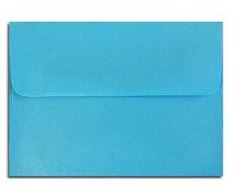 20 Aqua or Turquoise Blue Envelopes in A7, A6, A2 & A1 Sizes
