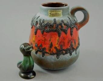Vintage vase / Carstens Tönnieshof / 1535 13 / Fat Lava | West Germany | WGP | 60s