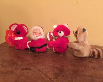 Vintage Dan-Dee Pinch Animals / Plush Pincher Toys