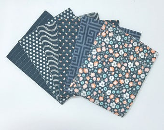 SALE!! Fat Quarter Bundle Sweet Marion by April Rosenthal for Moda 24040AB - 6 Fabrics