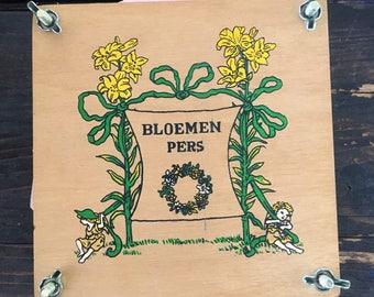 Vintage Flower press