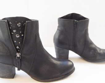 Nine West American vintage ankle booties boots size 9