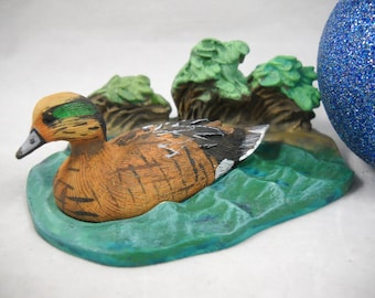 Avon Collectible Native American Duck Collection 1989 /Vintage Avon/Father's Day/Father's Day Gifts/Native American Ducks/Diorama