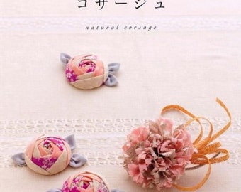 Natural corsage - Japanese craft book