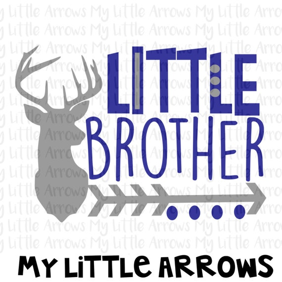 Deer Head Little Brother Silhouette Svg Dxf Eps Png Files