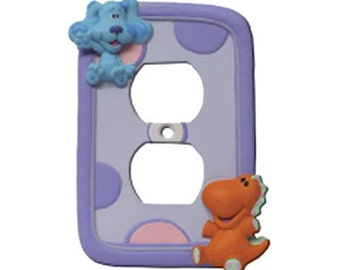 Blues Clues Outlet Cover