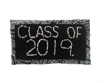 CLASS OF 2019 || Back Patch Grad Gift High School Graduation Gift College Graduation Punk Patch | Punk Patches class of 2019 gift