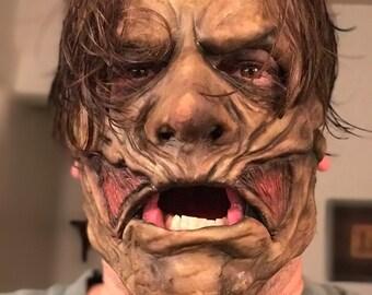 Corey under mask