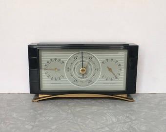 Vintage Airguide Desktop Weather Station - Art Deco - Bakelite - Temperature - Humidity - Barometer -Airguide Instrument Company Chicago-USA
