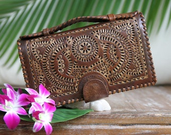 Big Leather wallet / women's leather wallet / leather purse / leather clutch /Organizer wallet