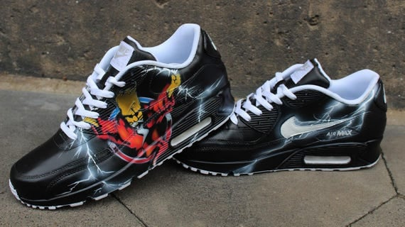 Custom Painted Air Max