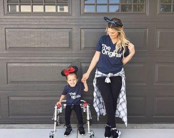 Lindo   Tes   para Disney   Unisex adulto   y los niños   Camisas   Camisetas   Hermanamiento   Juego   Divertido   Para vacaciones   Viaje por carretera   Familia   TS