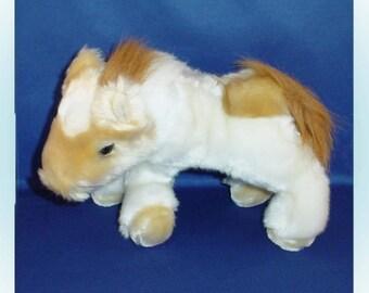 Plush Horse Stuffed Animal 1990s.