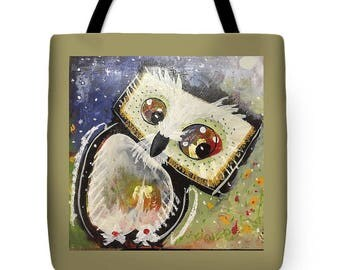 Olivia the Owl Tote Bag