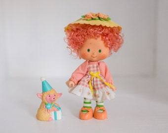 Strawberry Shortcake Peach Blush Party Pleaser Doll 1979 American Greetings