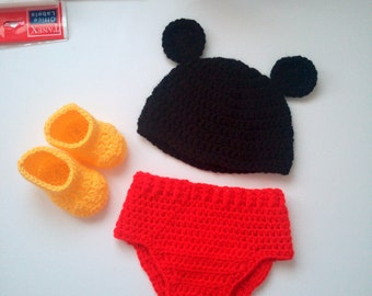 Disney Mickey Mouse Costume,Baby Costume, Newborn Baby Disney Outfit, Baby Mickey Mouse, Toddler Mickey Mouse Outfits, Baby Shower, Costumes