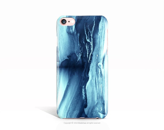 iPhone 7 Case Blue Paint iPhone 7 Plus Case iPhone 6s Case iPhone 6 Case iPhone 5s Case iPhone 5 Case Samsung Galaxy S7 Case S7 Edge Case