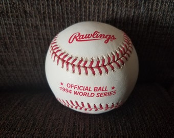 Rawlings 1994 World Series Baseball Free Shipping