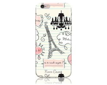 iPhone 7 Plus Case - iPhone 7+ Case - iPhone 7 + Case #When in Paris Design Hard Phone Case