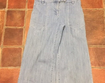 Funky vintage demin all in one size uk8
