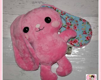 Pink Floppy Eared Bunny CE marked
