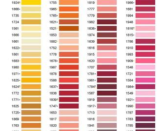 Bella Monogram Thread Colors 1