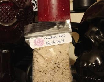 Goddess Hel Bath Salt - 1 oz Bag Size