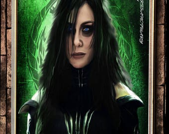 Hela Goddess of death